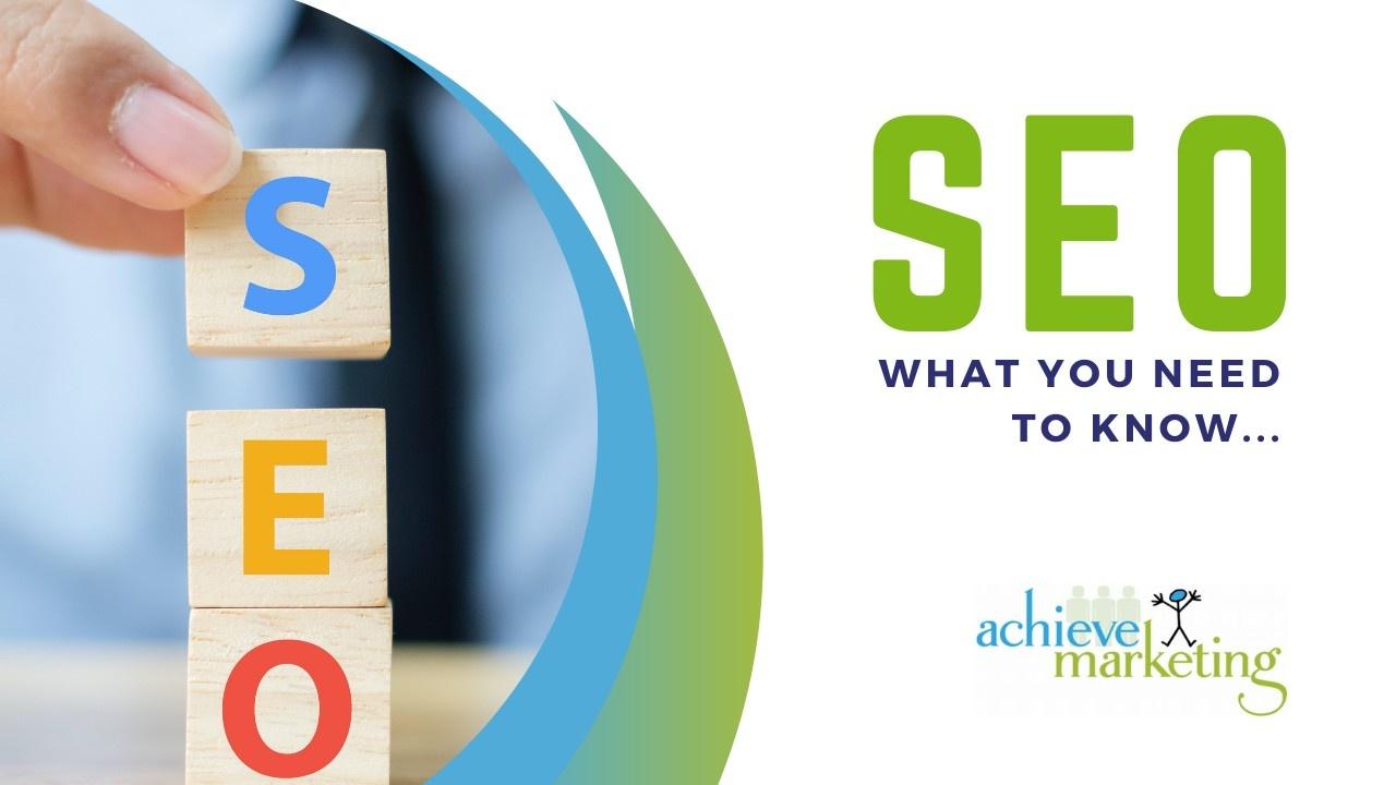 Achieve Marketing Simplifying SEO Blog Image