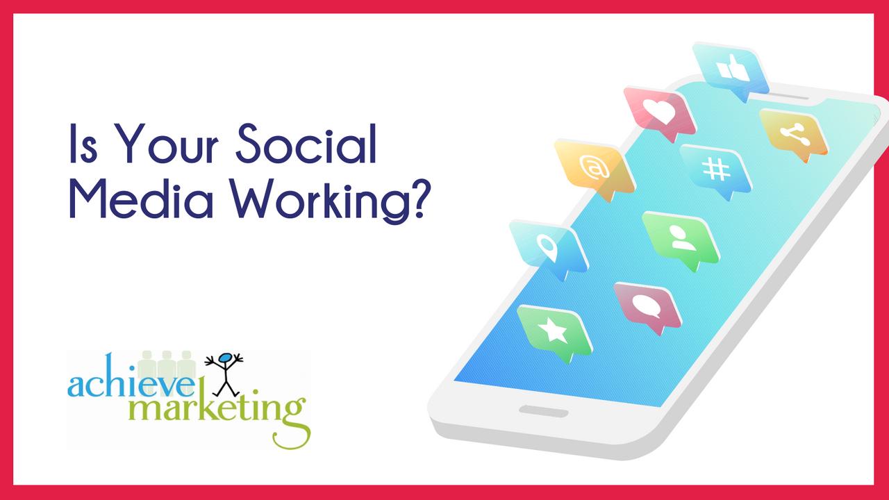 Achieve Marketing social media marketing performance blog image..