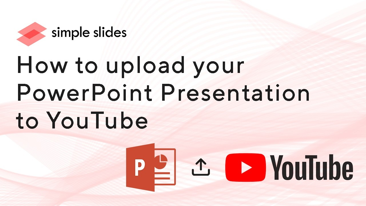 Uploading your PowerPoint Presentation to YouTube is easy. Here is a step-by-step tutorial on how to do it.
