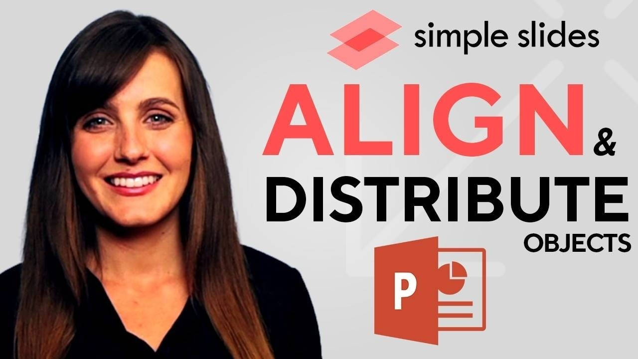 In this step-by-step tutorial, we show you how to align and distribute objects in PowerPoint