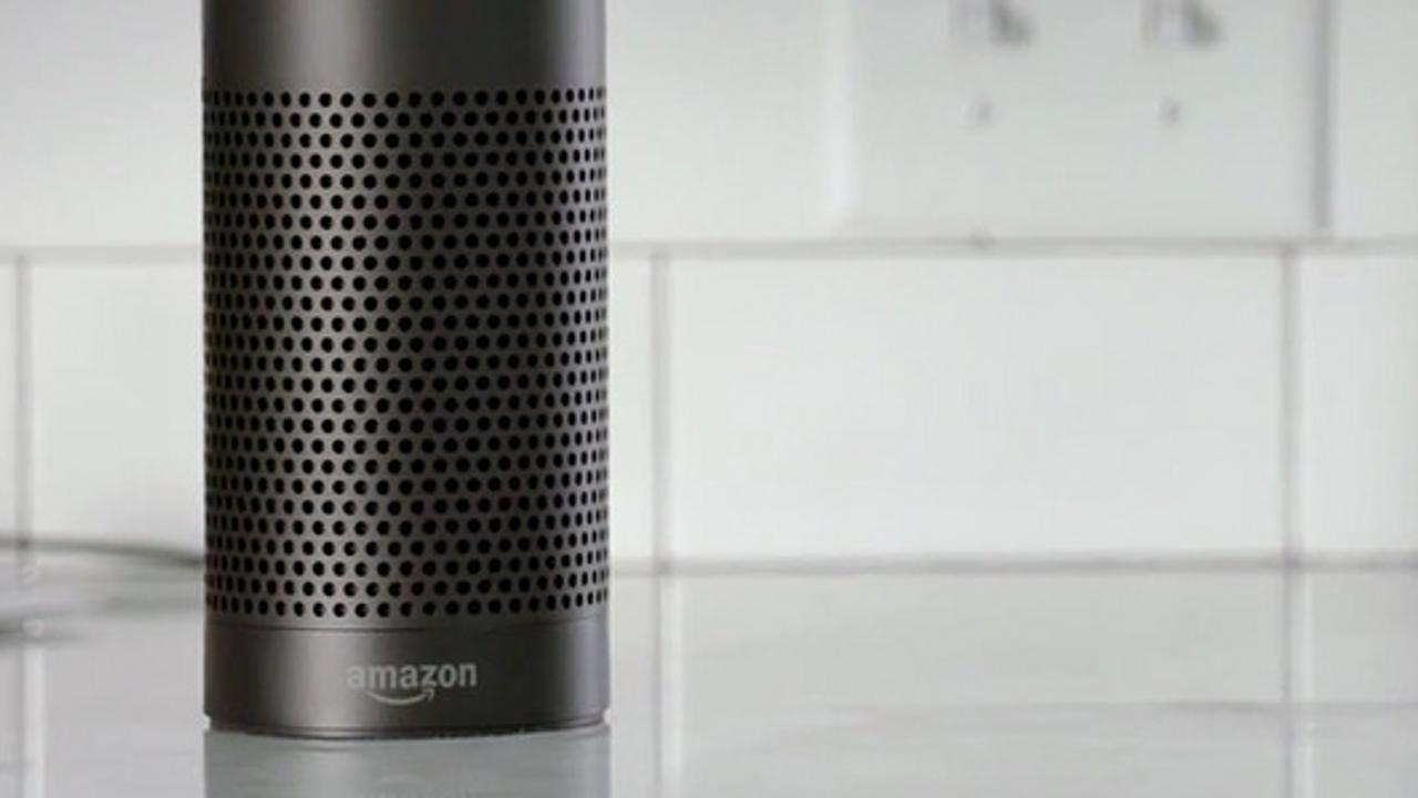 amazon Alexa speaker in black color