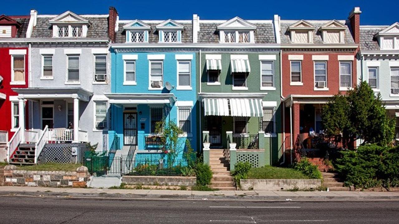 Washington DC Row Houses