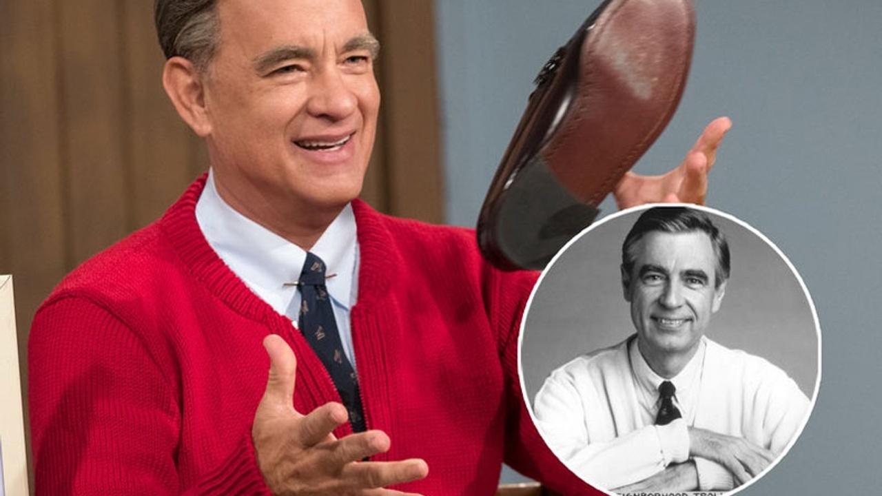 Tom Hanks as Mr. Rogers