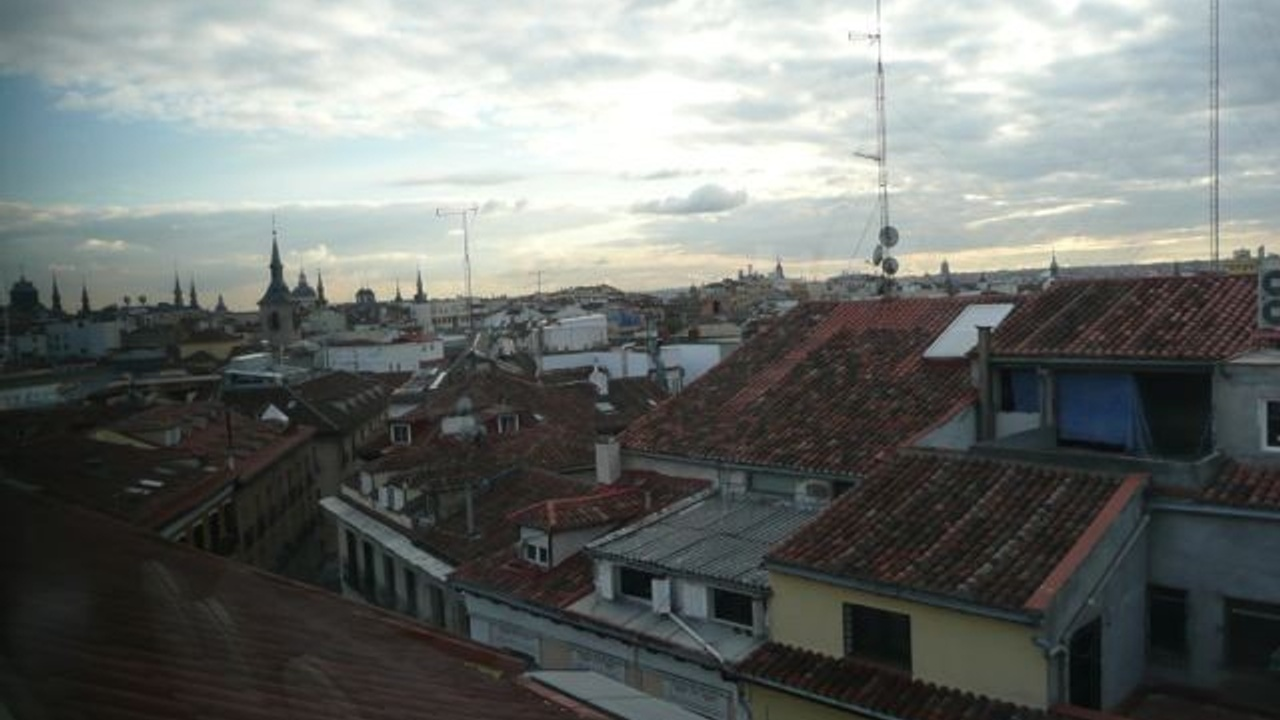 A view over the rooftops of Madrid