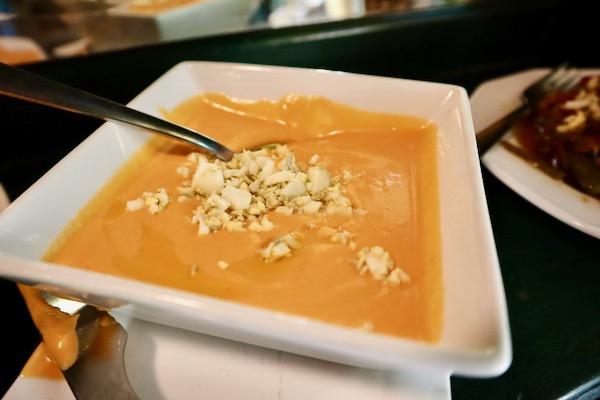 Salmorejo is one of the best vegetarian tapas in Madrid
