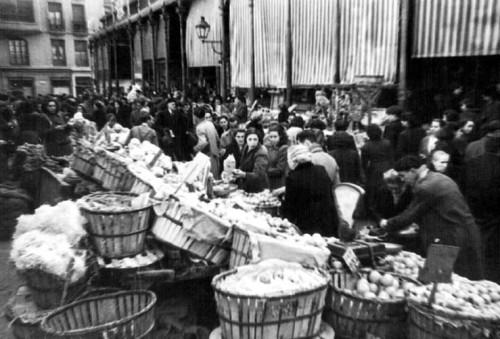 Mercado de San Miguel in 1940