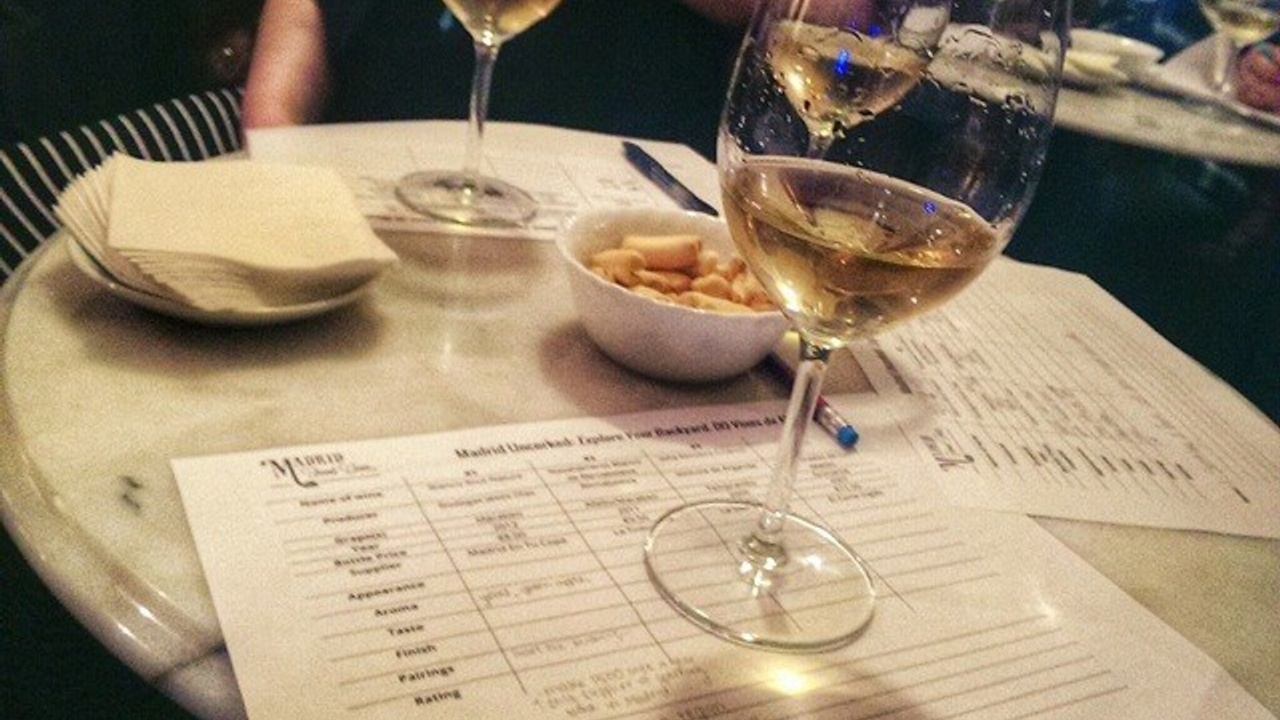 White wine at Madrid Uncorked