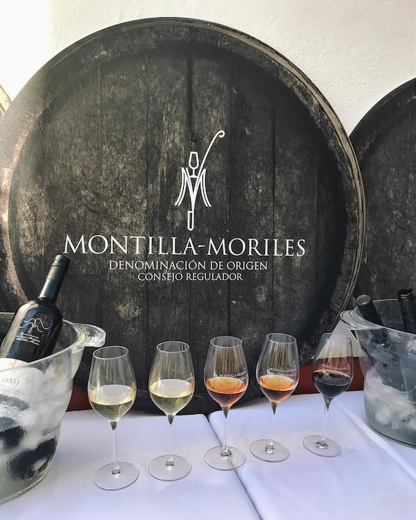 Montilla Moriles wine - where to eat in Cordoba