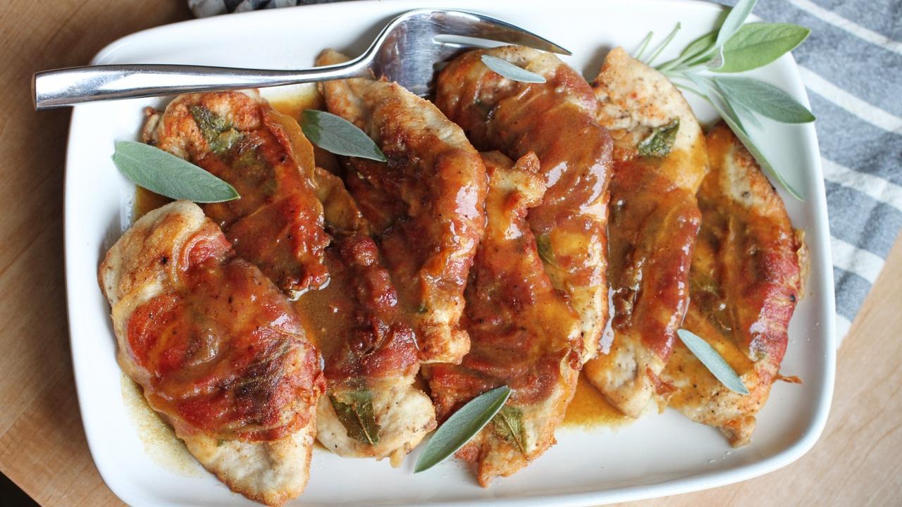 gluten free paleo aip chicken saltimbocca