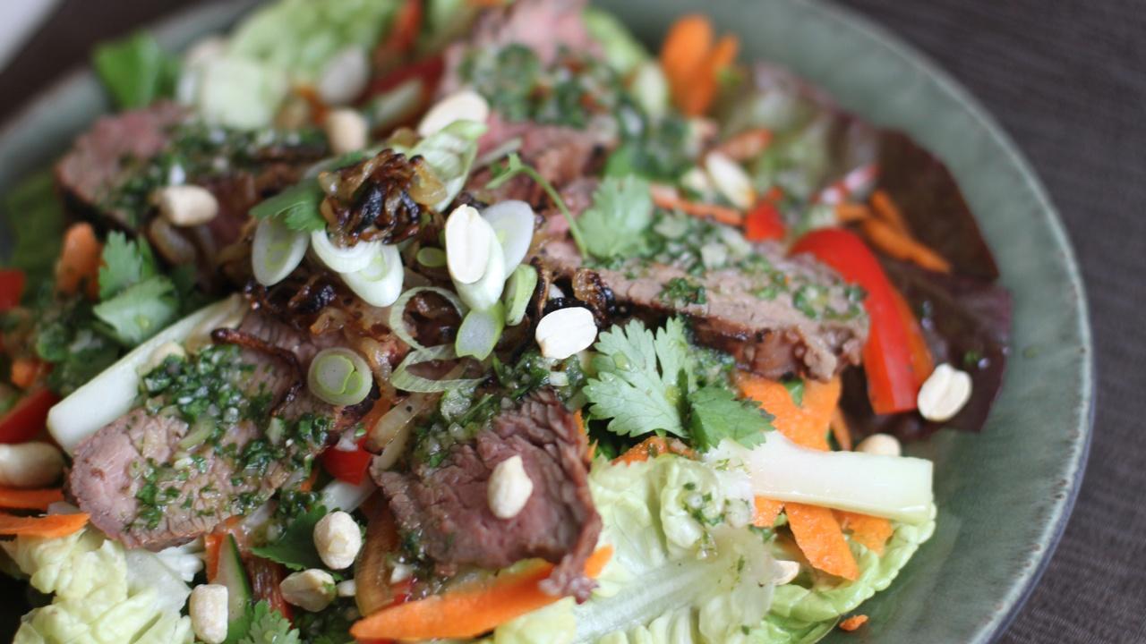 thai beef steak salad