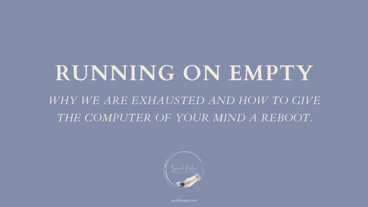 Is your mind running on overdrive. Give it a rest.