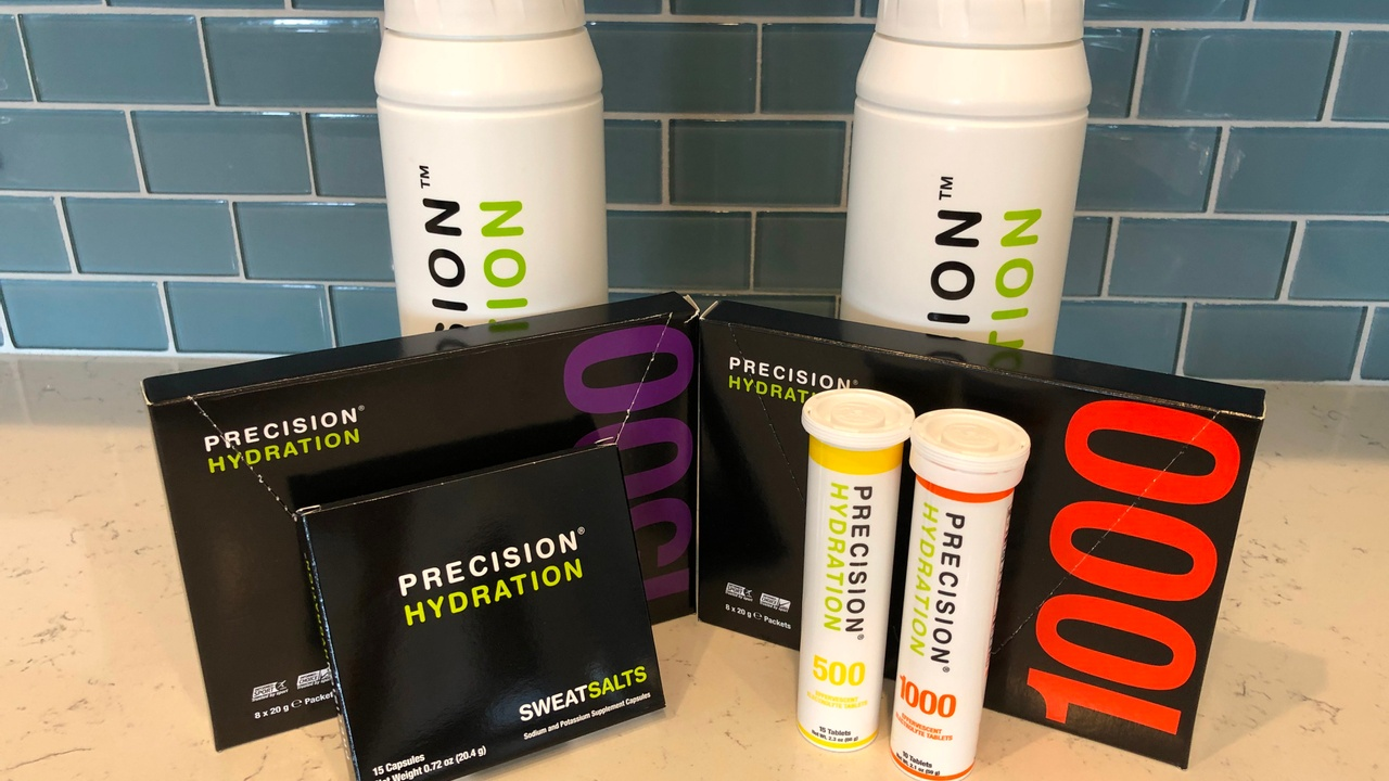 Precision Hydration products sample