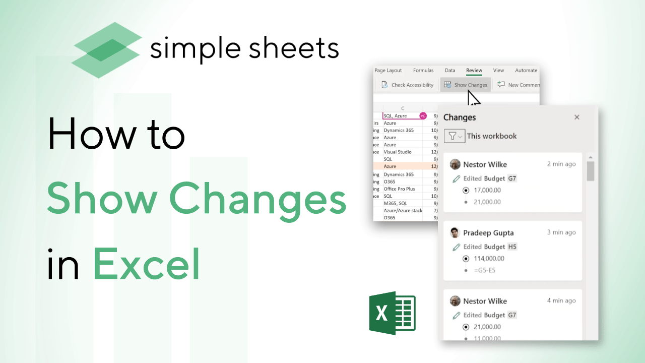 Show Changes is now available to users with a Microsoft 365 subscription. Here is a tutorial on how to use this new great feature!