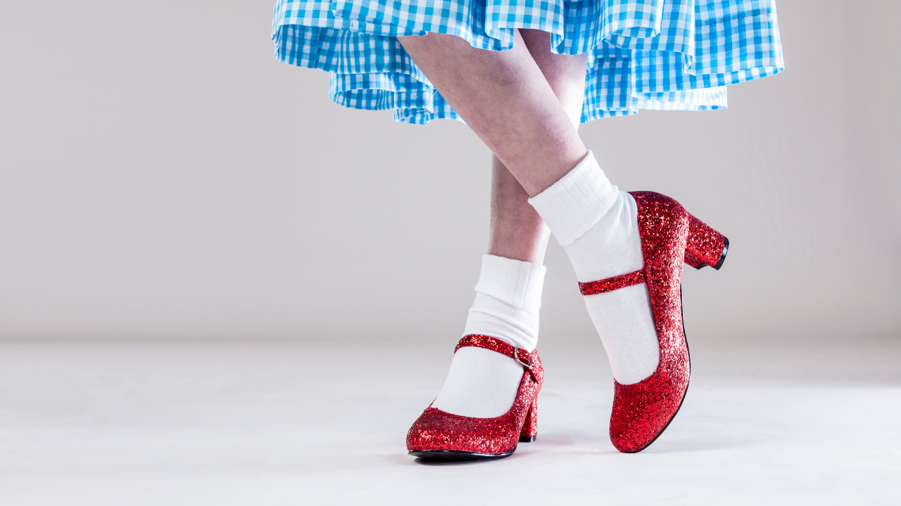 Lessons for Life from those rube red shoes