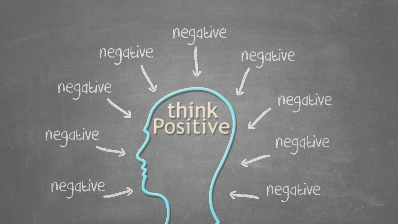 positive thinking amidst negative thoughts
