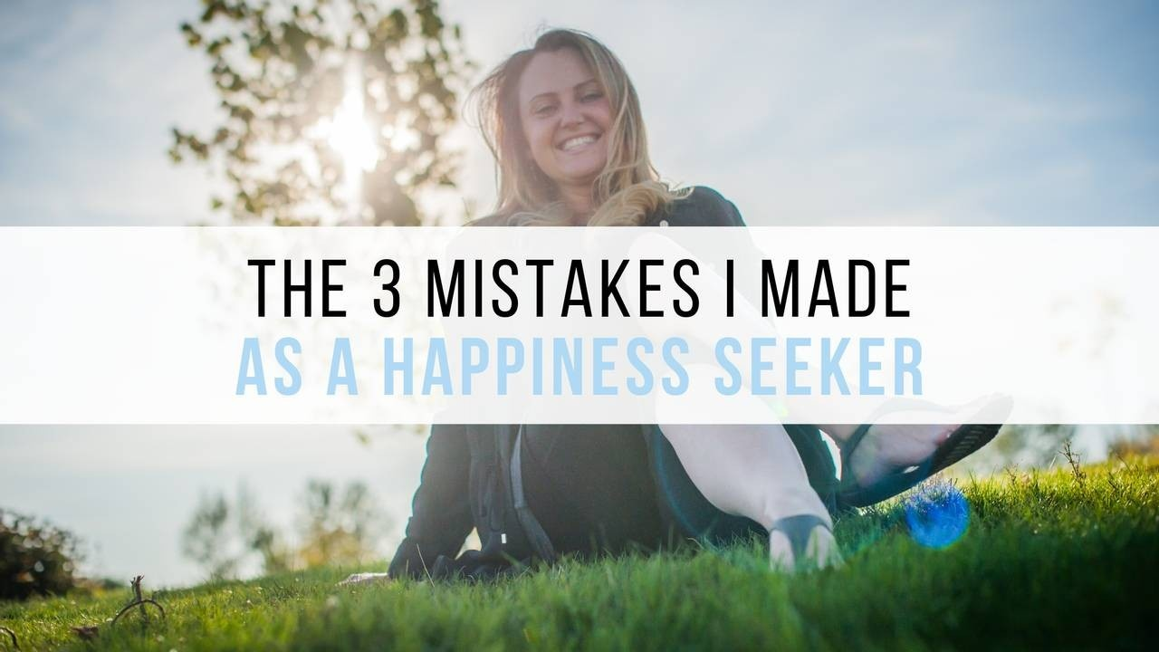 happiness mistakes