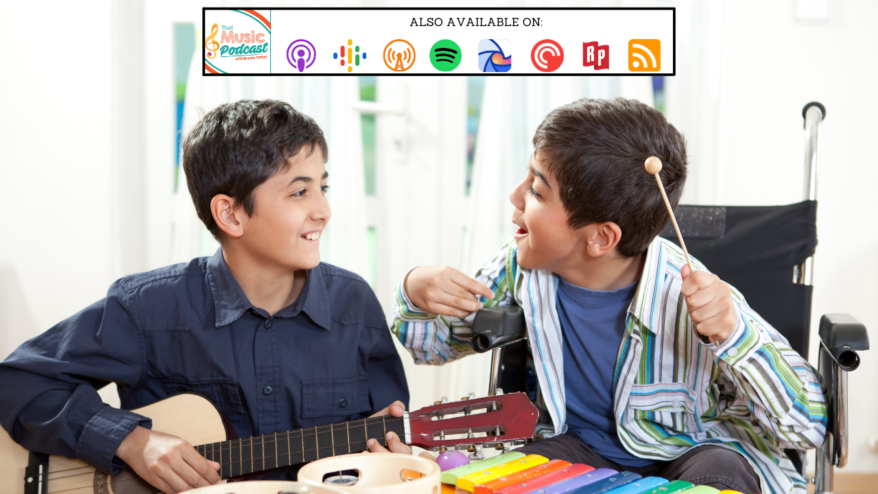 Meaningful Music Education for Students with Autism Spectrum Disorder | That Music Podcast