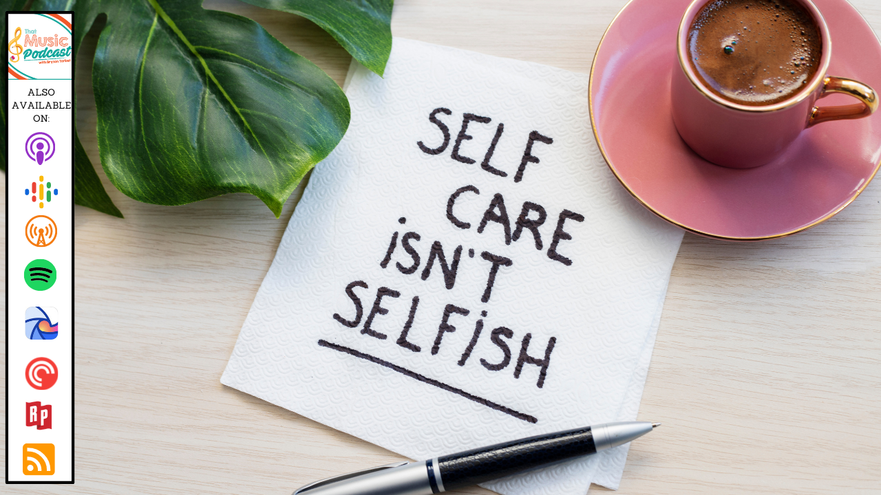 Teacher Self-Care with Jackie Sunga | That Music Podcast