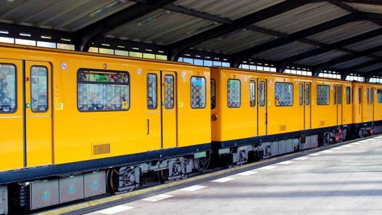 Yellow S-Bahn