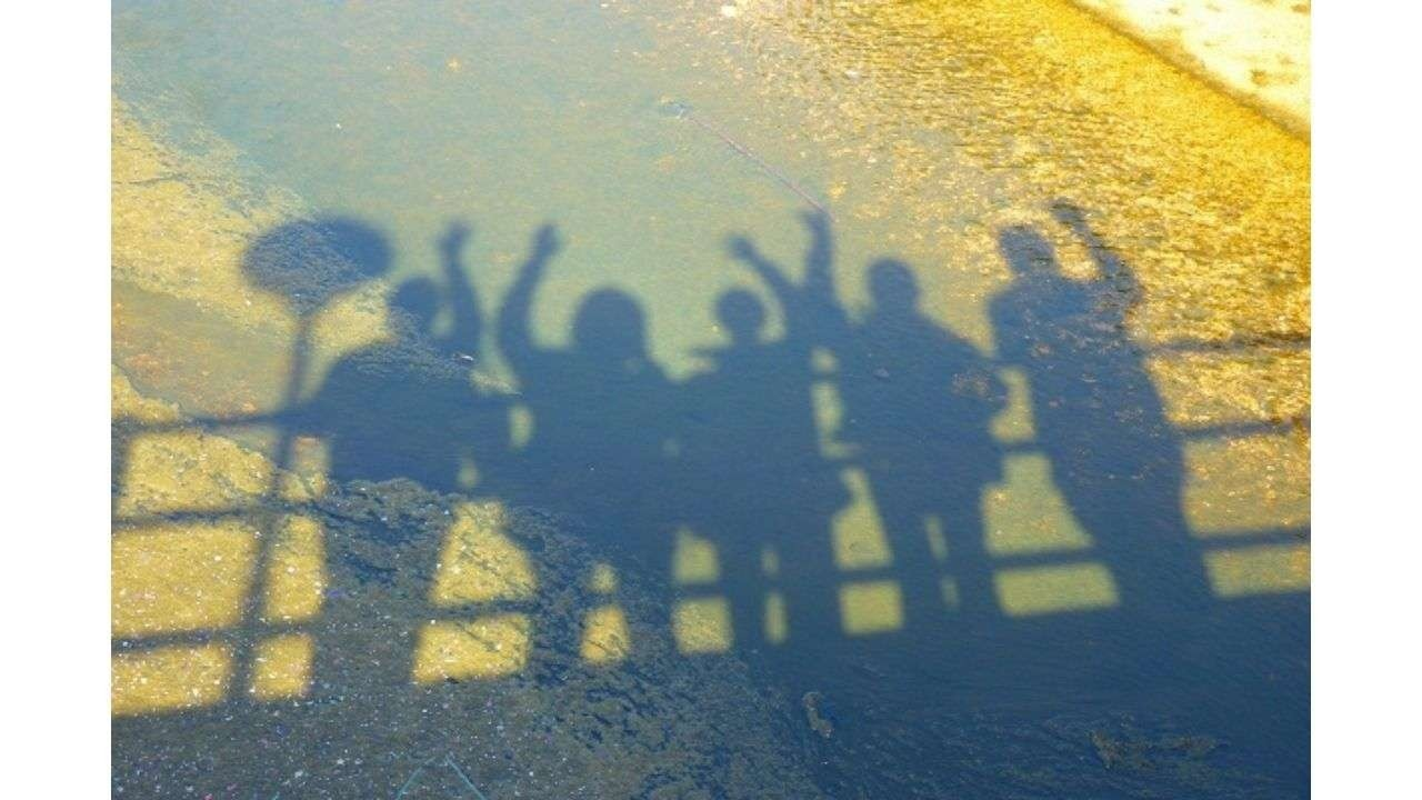 Group of people shadow
