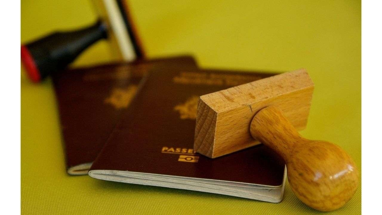Passports and stamps