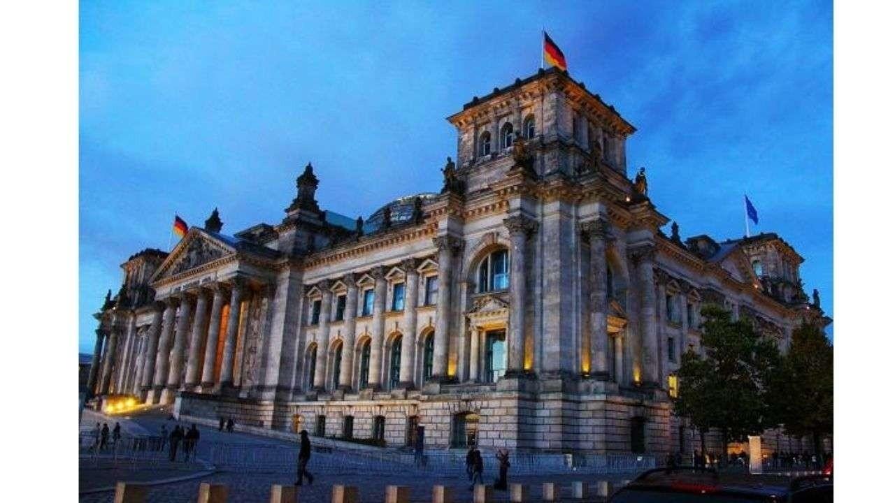 Bundestag building