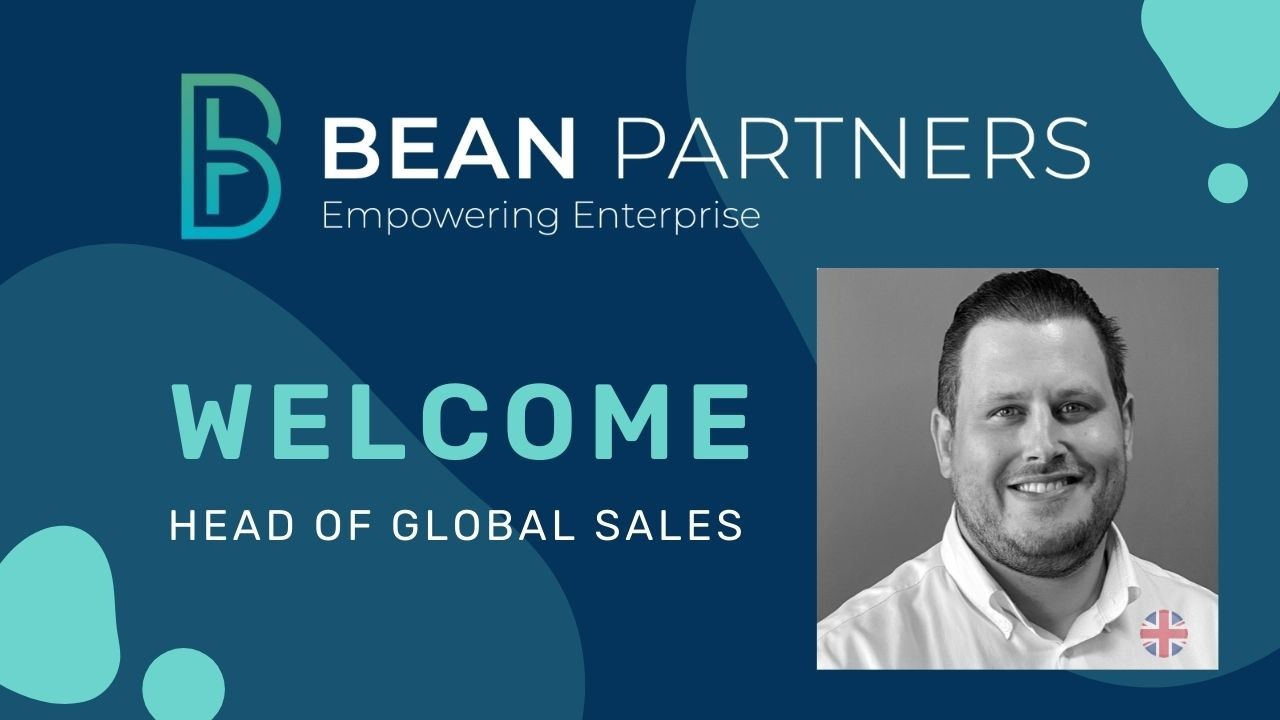 Welcome to our new Head of Global Sales
