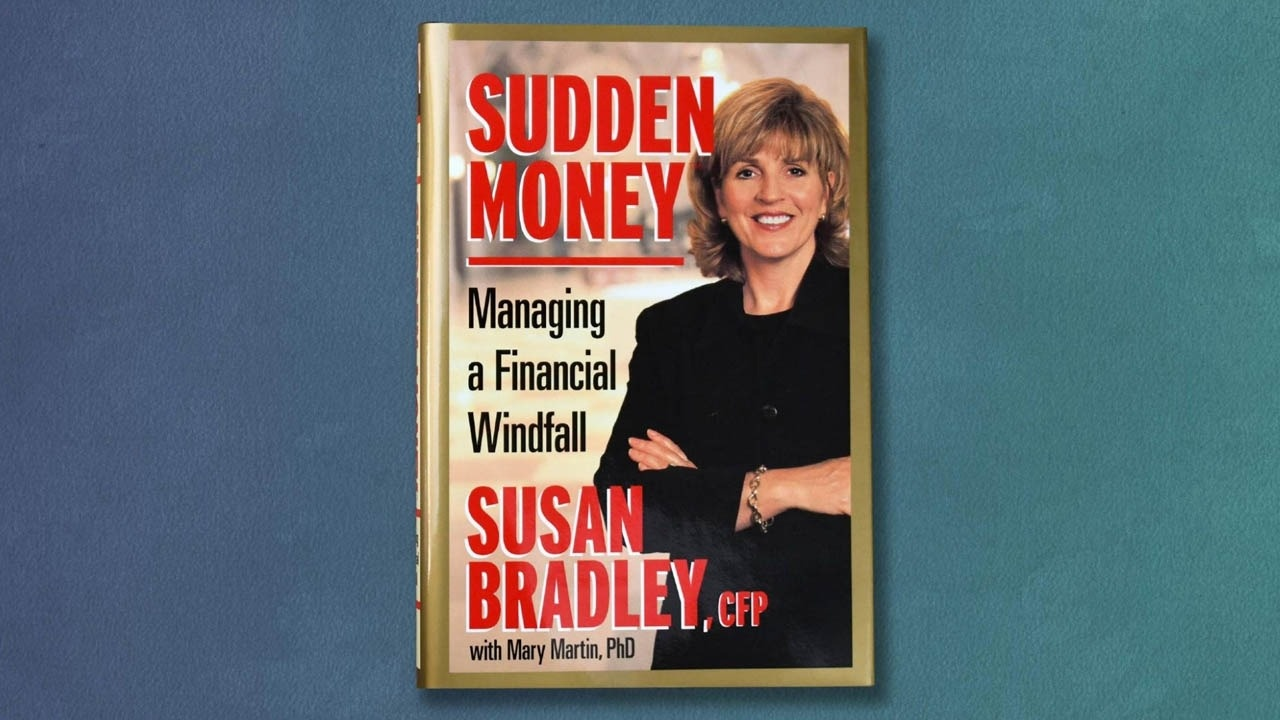 sudden money book by susan bradley with mary martin