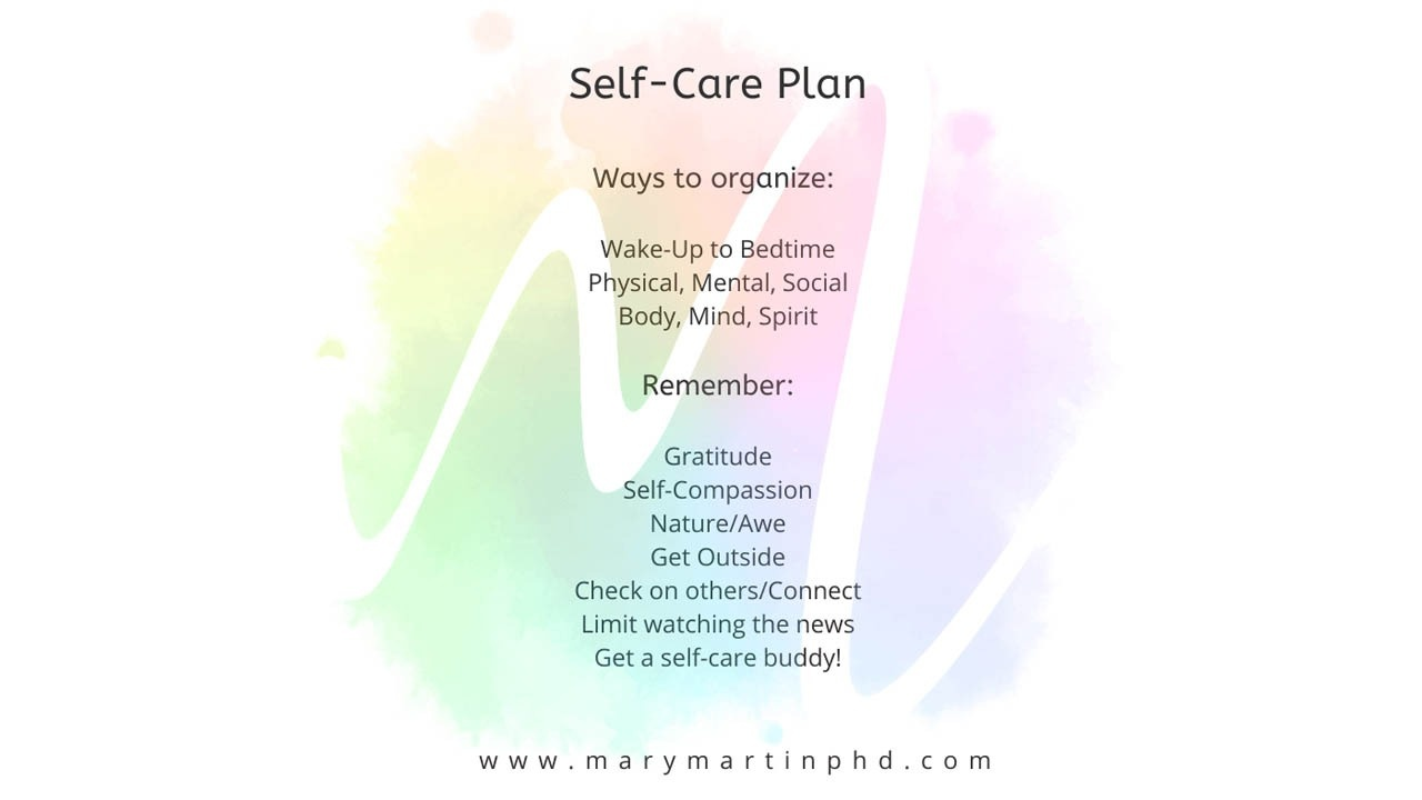 Ofsoeeqzqms9moyt8yux self care plan by mary martin phd
