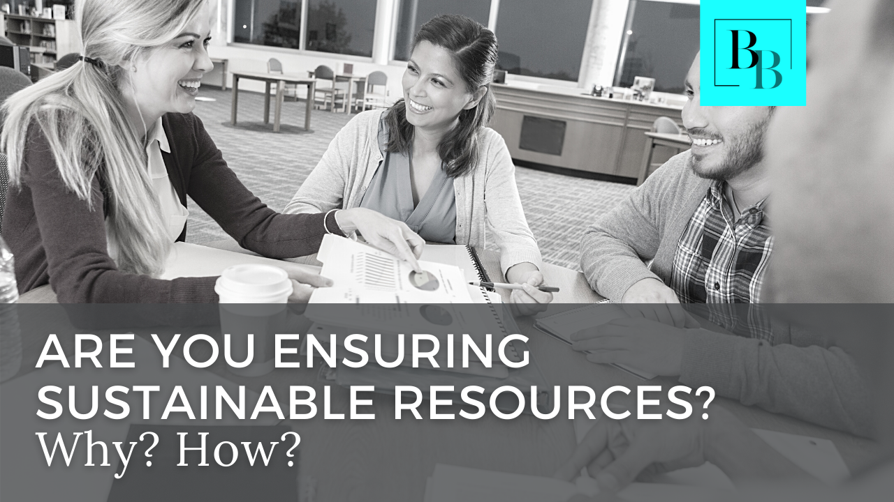 Is Your Board Ensuring Sustainable Resources?