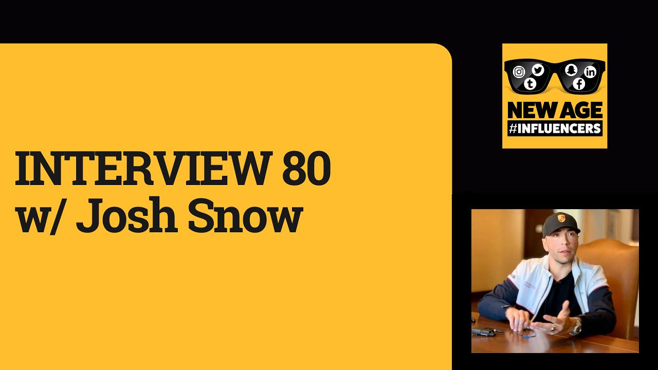 Josh Snow, Snow Teeth Whitening