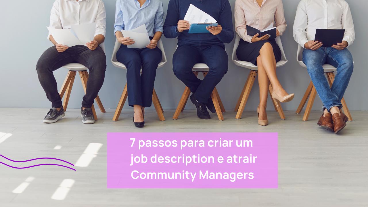 job description para atrair community managers