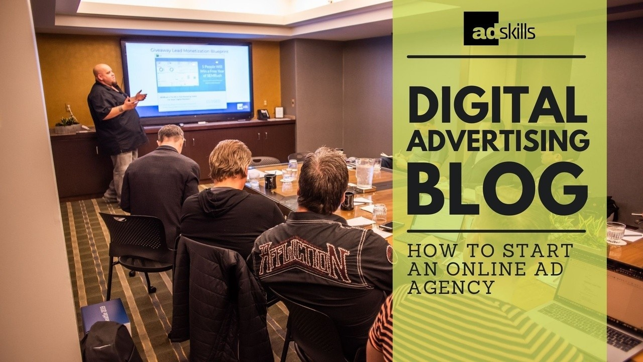 how to start an online ad agency