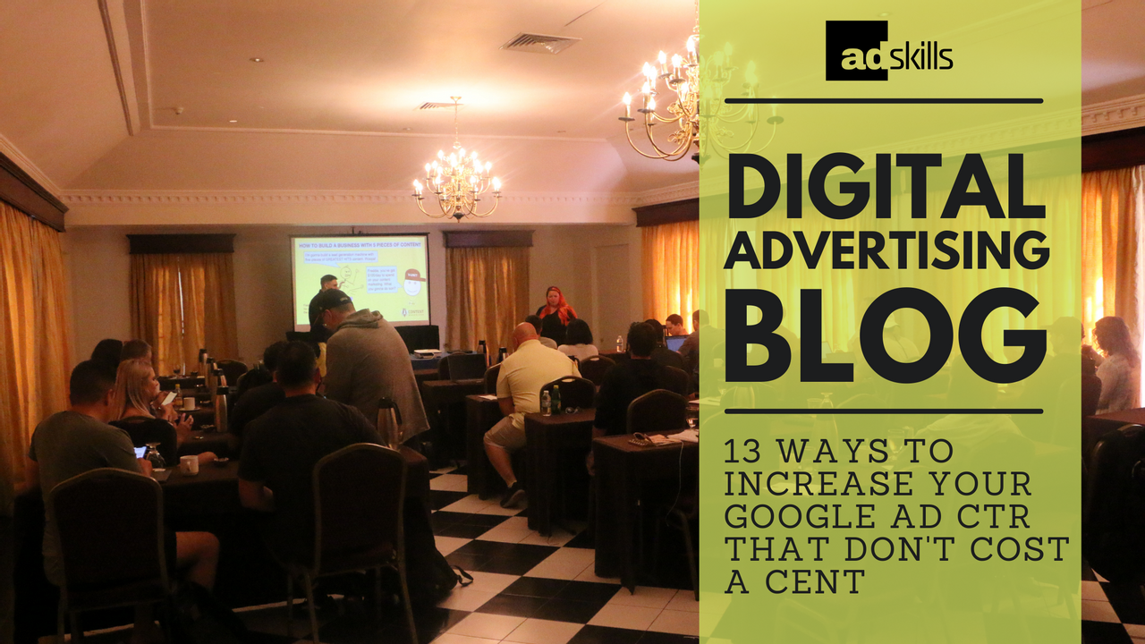 Increase Your Google Ad CTR