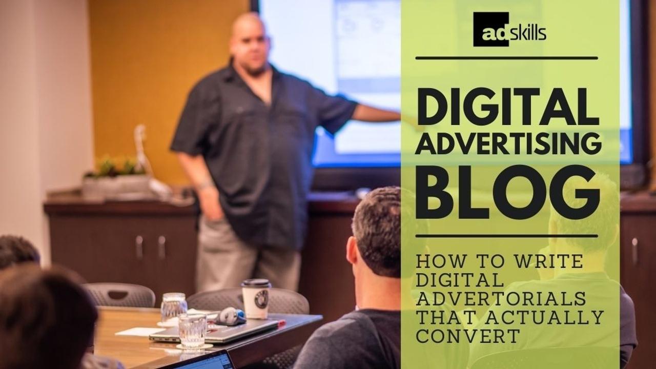 How To Write Digital Advertorials