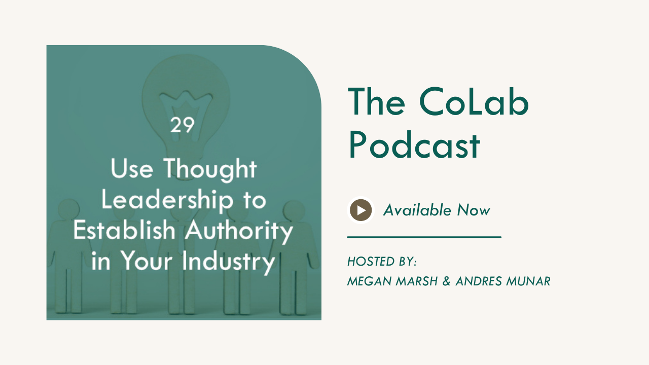 How To Use Thought Leadership To Establish Authority