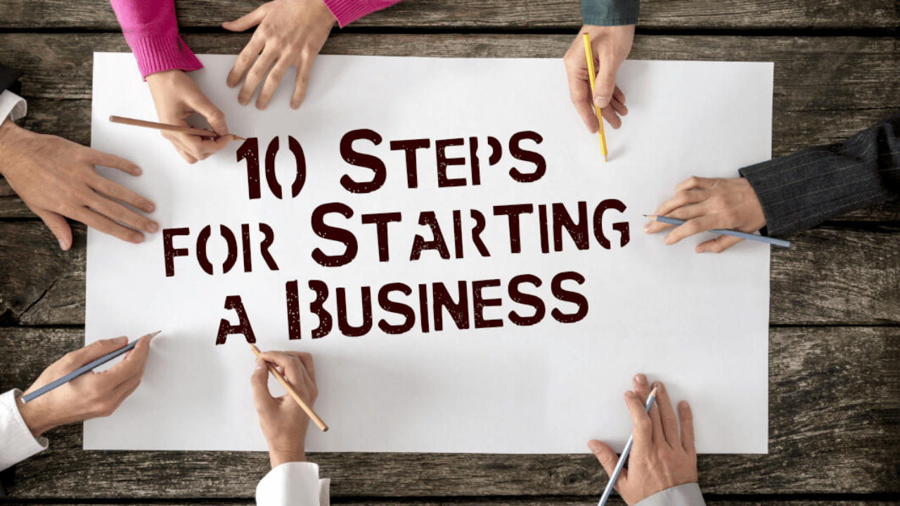 10 Steps for Starting a Business