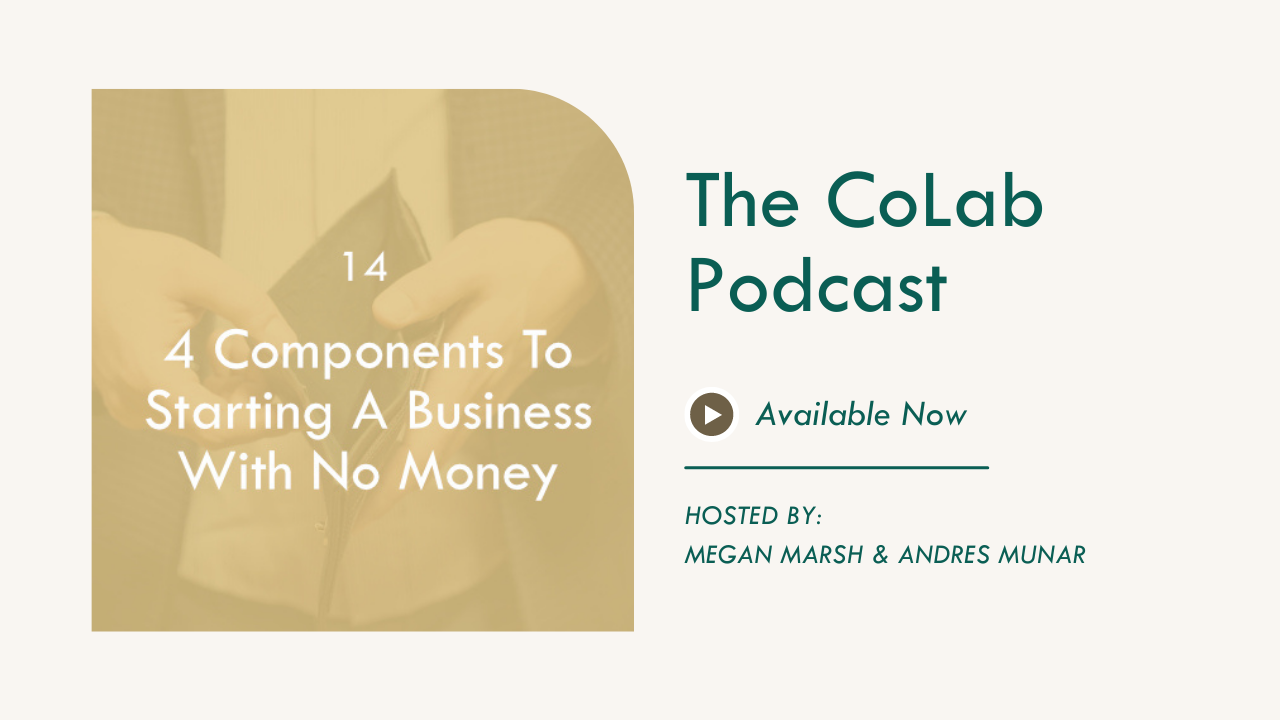 4 Components To Starting A Business With No Money