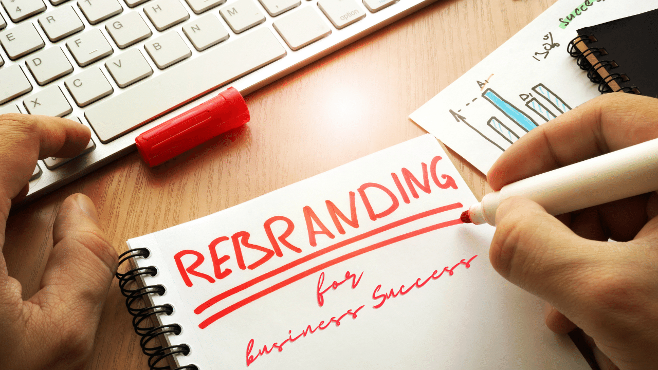 How to Rebrand Your Company for Business Success