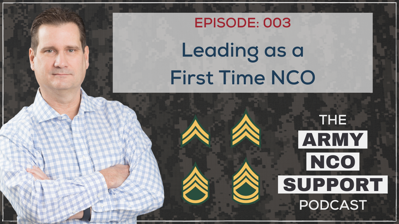 Leading as a First Time NCO
