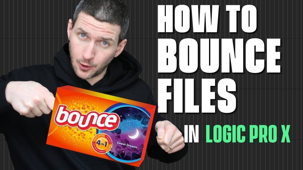How To Bounce Stems In Logic Pro