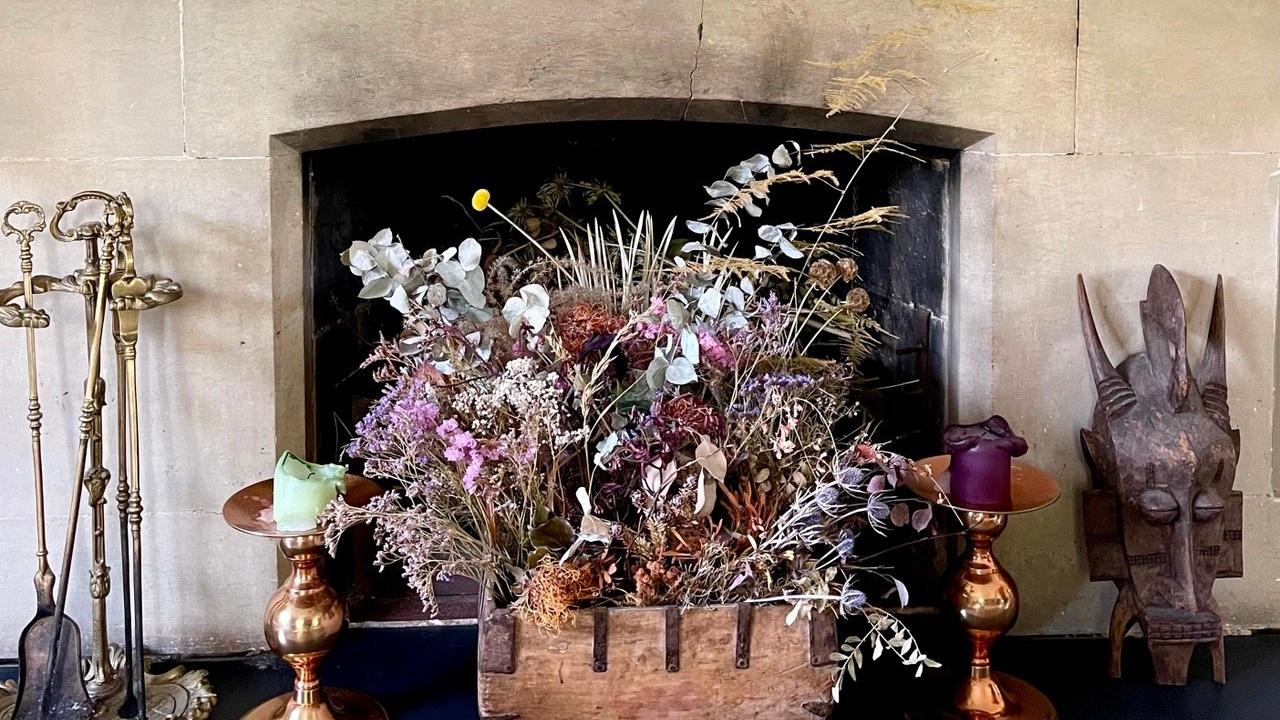Interior Design May Home Style Trockenblumen
