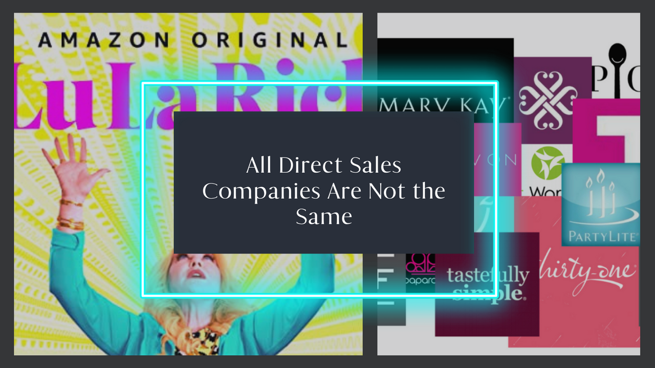 LulaRich photo ato show direct sales companies are not equal