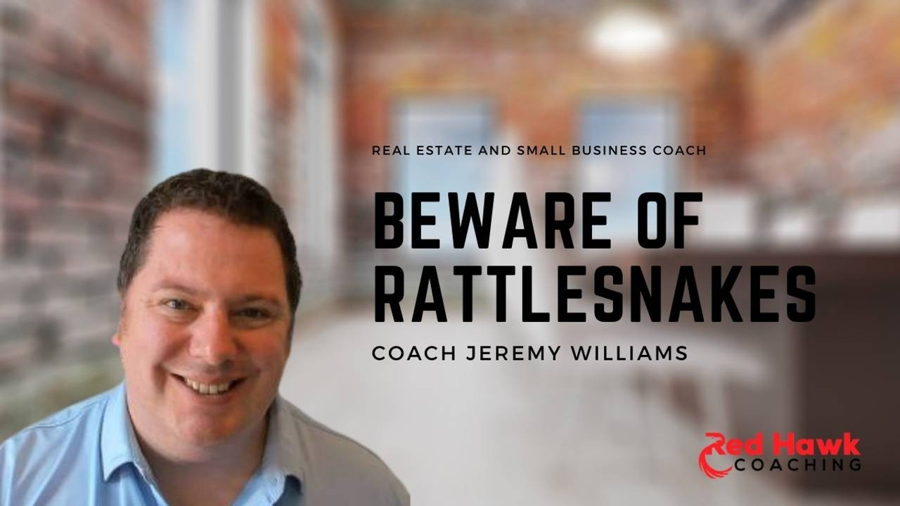 Real Estate and Small Business Coach Jeremy Williams Red Hawk Coaching