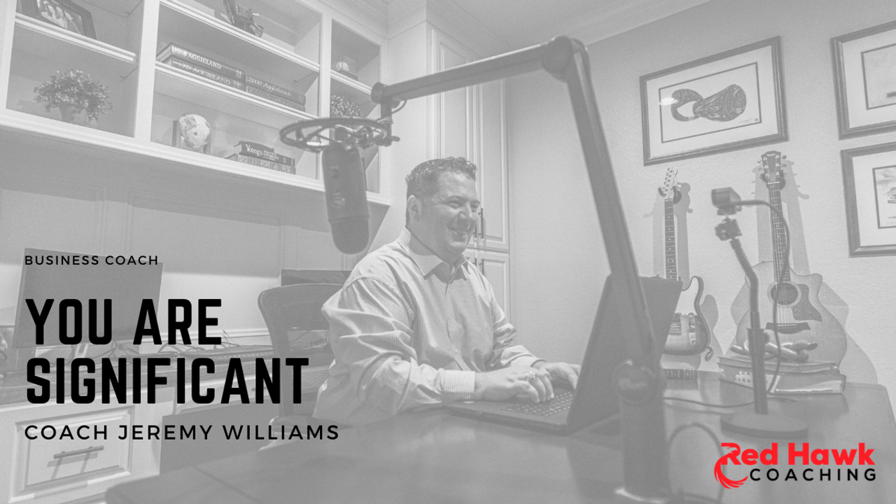 Red Hawk Coaching Real Estate Coach Jeremy Williams Small Business Coach