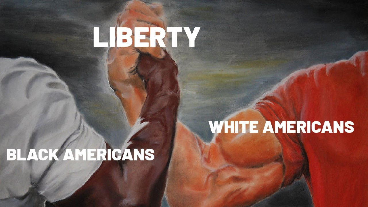 Black and White Americans Uniting for Liberty USA USA