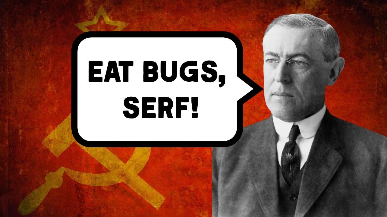 Woodrow Wilson Communist Fascist Progressive