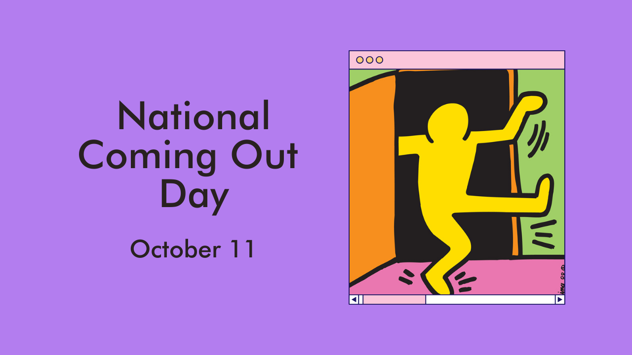 National Coming Out Day October 11th