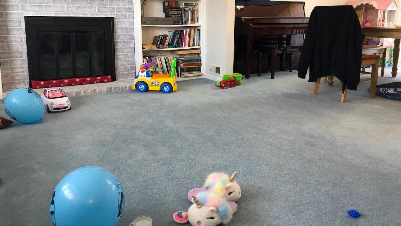 Shannon's living room carpet