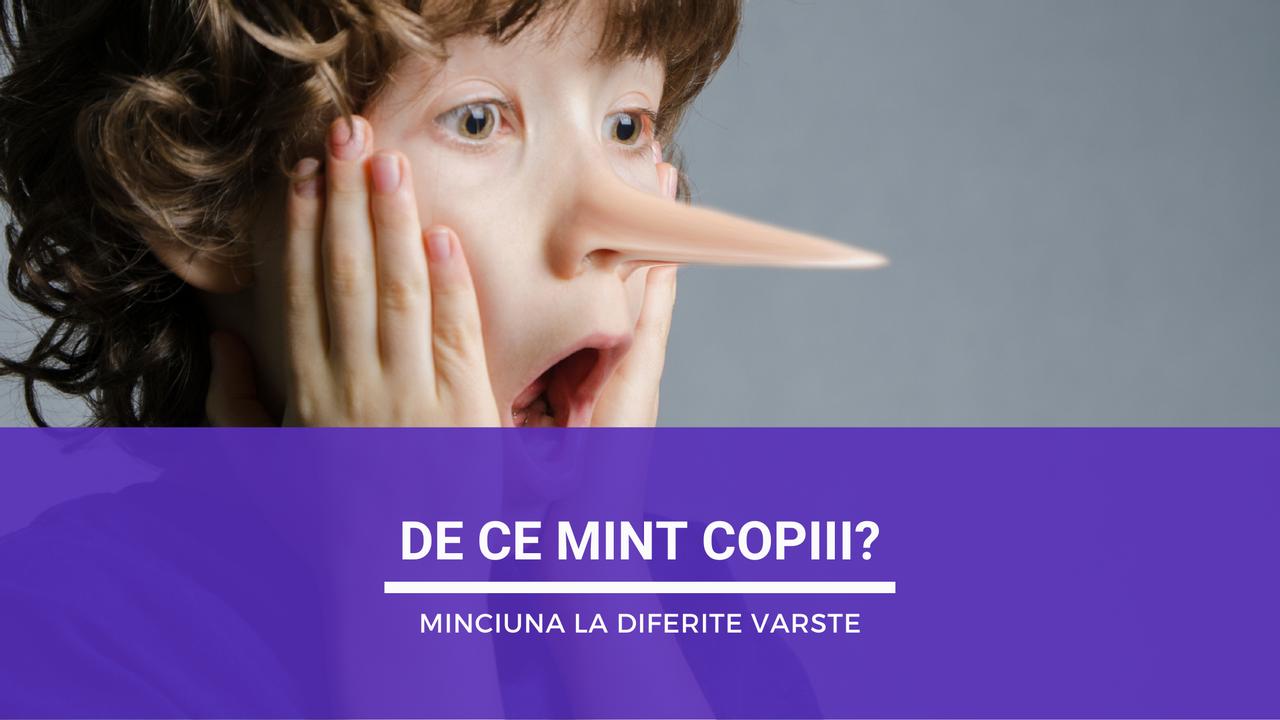 De ce mint copiii? Minciuna la diferite vârste